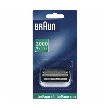 Authentique grille braun s rie 3000 interface - Grille rasoir braun serie 1 190 ...