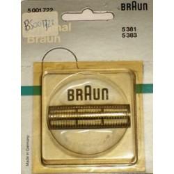 Cuchilla Original Braun 383