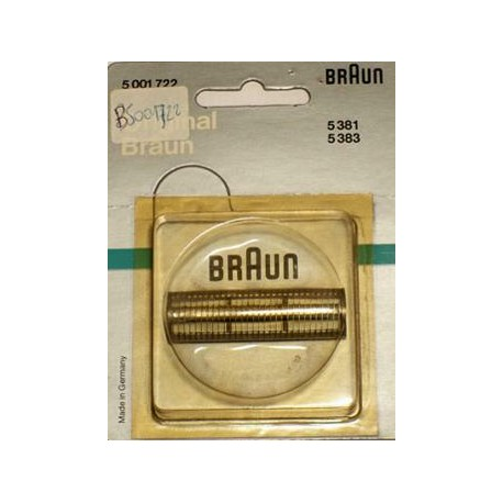 Genuine Braun 383 Cutter