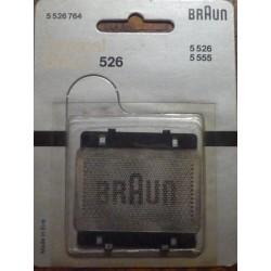 Grille de rasoir Braun 526