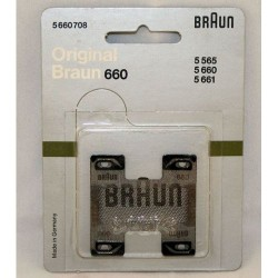 Grille de rasoir Braun 660