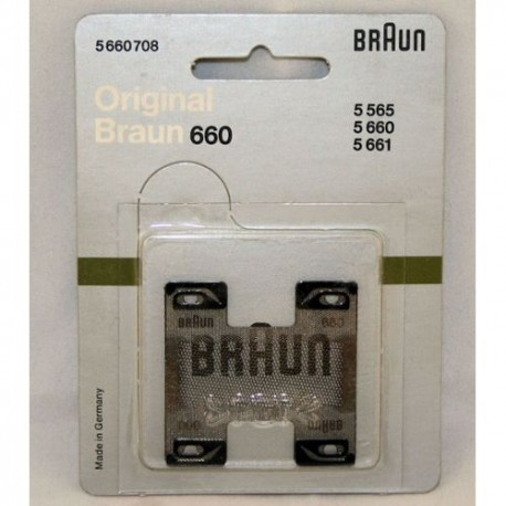 Braun 660 Replacement Foil