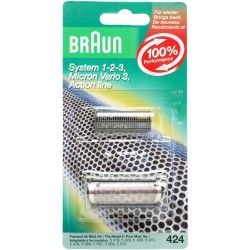 Couteau et Grille de rasoir Braun 424
