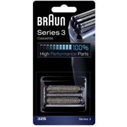Braun Scherkopf Cassette 32S - Silber