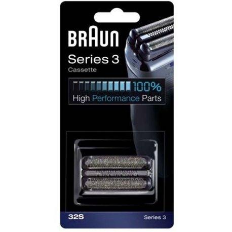 Braun 32S Replacement Foil & Cutter Cassette - Silver