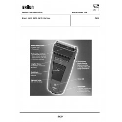 Braun 5629 Service Manual