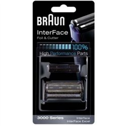 Genuine Braun 3000 Series Foil & Cutter Pack