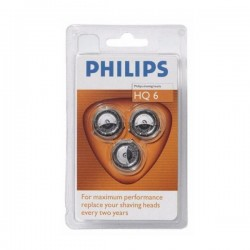 Cabezales Philips HQ6 Original (x3)