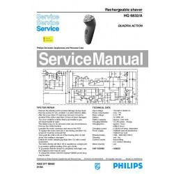 Philips HQ6832 Service Manual