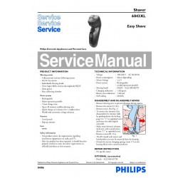 Philips HQ6843 Service Manual