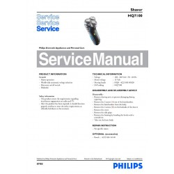 Philips HQ7100 Service Manual
