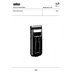 Braun 5461 Service Manual