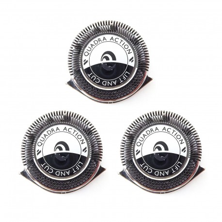 Philips / Norelco HQ8 tête de rasoir - 3 pièces