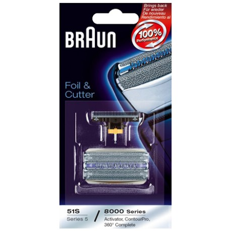 Braun 51S Replacement Foil and Cutter