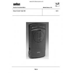 Manual de Serviço Braun 5614