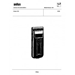 Braun 5596 Service Manual